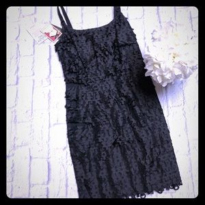 Original Yoana Baraschi Black Torn Style MiniDress